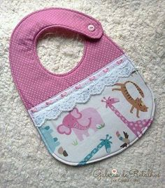 Baby bibs, Purchase infant bibs along with multipack bibs, coverall bibs, slow grow bibs, crumbcatcher bibs. Quilt Baby, Baby Sewing Projects, Sewing For Kids, Free Sewing, Handgemachtes Baby, Baby Vest, Baby Gifts To Make, Burp Rags, Burp Cloths