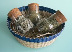 Gourmet Gift, # Greek herbs,  #oregano, #sage, #mint,  #Set of 3 design Jars filled with herbs by VintageNatureGreece https://www.etsy.com/shop/VintageNatureGreece