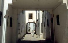 alley, housing