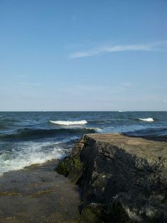 Lake Erie. Marblehead , Ohio