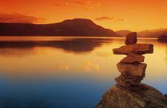 Don Hammond Poster Print Wall Art Print entitled Sunset Over Water, Shuswap Lake, British Columbia, Canada Canada Wall, Wall Art Prints, Canvas Prints, Nature Posters, British Columbia, Underwater, Monument Valley, Art Photography, Ocean