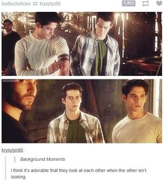 #Sterek #TeenWolf... trying to decide if i ship it :)