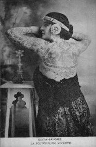 I thought it might be fun to rummage around the history books and take a look at some of the intrepid women who were instrumental in introducing and legitimizing the art of tattoos to the American … Historical Tattoos, Circus Tattoo, Maori Tribe, Famous Historical Figures, Female Body Art, Retro Tattoos, Vintage Tattoos, History Tattoos, Maori People