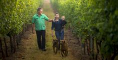 Wines for Joanie. Two young Australians making their dreams come true in Tasmania. Excellent stuff!