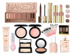 """""""Lets Make Up"""" by tammygrace ❤ liked on Polyvore featuring beauty, Essie, Maybelline, MAC Cosmetics, NARS Cosmetics, Urban Decay, Clinique, Guerlain, Tom Ford and Yves Saint Laurent"""