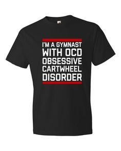 Pinterest - Gymnastics OCD T-Shirt