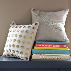 Bijoux-Dots Pillow Cover | west elm