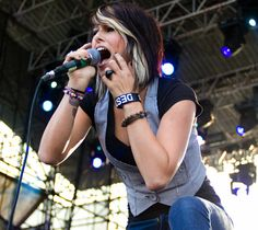 Cassadee Pope. I don't care how famous she gets, I'll always think of her as the pop punk singer from Hey Monday