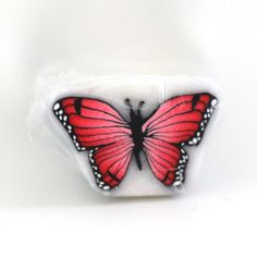Red Butterfly, Butterfly Cane, Polymer Clay Cane