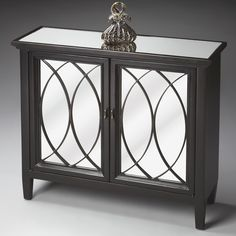 Have to have it. Butler Console Cabinet - Plum Black $919.98
