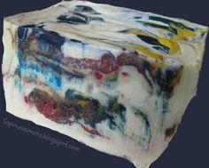 sapounismata : Σαπούνι ελαιολάδου με ιμπρεσιονιστική διάθεση