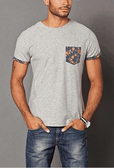 forever 21 | Floral Pocket Tee... this animation is driving me nuts though...