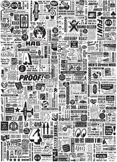 Empty Frame Art Prints Shop — TYPOGRAPHIC SPAM #2