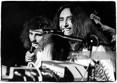 Photo of URIAH HEEP; David Byron Ken Hensley - Uriah Heep, May 1974. Oslo, Norway