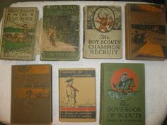Boy Scouts Handbooks Vintage
