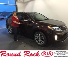 https://flic.kr/p/CPb3cD | Happy Anniversary to Sylvia on your #Kia #Sorento from Mohammed Ali at Round Rock Kia! | deliverymaxx.com/DealerReviews.aspx?DealerCode=K449