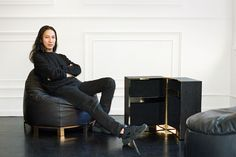 Alexander Wang Debuts a Furniture Collection for Poltrona Frau