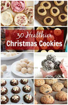 30 Healthier Christmas Cookies