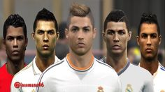Cristiano RONALDO from PES 3 to PES 2016 vs Real Face Comparison  2017