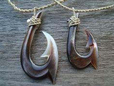 Maori fish hooks