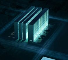 The 2008 Olympic Data Center, Beijing Goes TRON - HotHardware