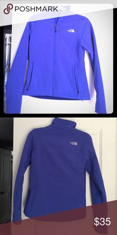 Women's North Face Apex Jacket Designed for windy, cold weather activities, this coveted soft shell will keep you warm and windchill-free beneath its windproof exterior and comfortable fleece backer. North Face Jackets & Coats