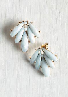 Pure Deco-dence Earrings | Mod Retro Vintage Earrings | ModCloth.com