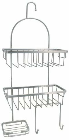 Hardware House 583963 Shower Caddy Satin Nickel by Hardware House. $31.99. From the Manufacturer                Satin nickel shower caddy                                    Product Description                SHOWER CADDY - With suction cup.