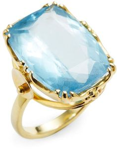 Suneera Women's 18K Yellow Gold Aquamarine Ring. Aquamarine jewelry. I'm an affiliate marketer. When you click on a link or buy from the retailer, I earn a commission.