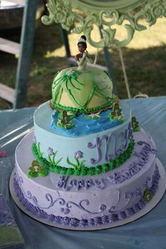 PRINCESS AND THE FROG Birthday Party Ideas | Photo 1 of 34 | Catch My Party