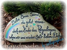 Over The Rainbow, Painted Rocks, Etsy, Christmas Ornaments, Holiday Decor, Clock, Profile, Tombstone Sayings, Granny Love