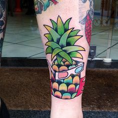 Retro pinapple