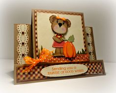 Stacey Hillesheim: Stacey's Creative Corner: Harvest Wishes - 9/9/14  (KaDoodle Bug Designs: Girl Fall Bears)