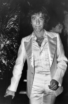 Robin Gibb of the Bee Gees at a party, March 1978.