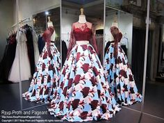 Burgundy Two-Piece Printed Lace Ball Gown Prom Dress Hoco Dresses, Pageant Dresses, Quinceanera Dresses, Dance Dresses, Formal Dresses, American Dress, Lace Ball Gowns, Bridal Outfits, Lilac