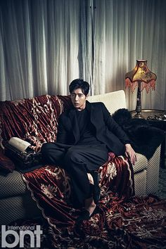 Park Hae Jin In A Hong Kong Noir Mood For BNT International Pictorial | Couch Kimchi
