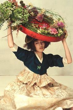 ❀ Flower Maiden Fantasy ❀ beautiful photography of women and flowers - Photography by Ogh Sang Sun