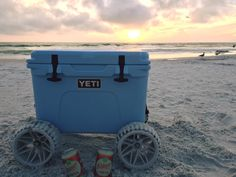 Large Badger Wheels in action on a 45Qt YETI! Thanks for sharing, Tommy!
