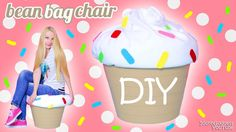 How To Make A Giant Cupcake Bean Bag Chair – DIY Cupcake Beanbag (easy t...