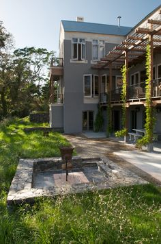 The garden was designed and installed during the renovation of the property during the The garden has fabulous mountain views and was designed by Franche Garden Types, Young Family, Private Garden, Mountain View, 1990s, Swimming Pools, Lawns, Mansions, Cape Town