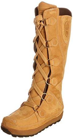 """Timberland Mukluk 16"""", Bottes femmes - Marron (Blé), 39: Amazon.fr: Chaussures et Sacs"""