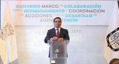 Silvano Aureoles señaló que si la Federación se queda con el 75 por ciento de los recursos y el resto lo manda a las entidades, estas tendrían mejores condiciones para ...