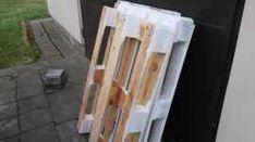 Postel z palet - návod s fotografiemi | postel-palety.cz Ladder, Stairway, Ladders