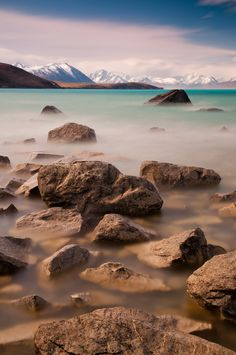 Lake Tekapo in New Zealand by Flash Parker >>> Beautiful photo and it was taken with the help of a single black sock. I'm serious!