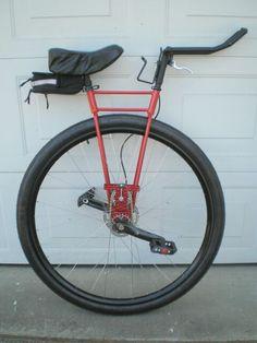 Mono Wheel Bike To Show Drew Pinterest Wheels Bicycling And