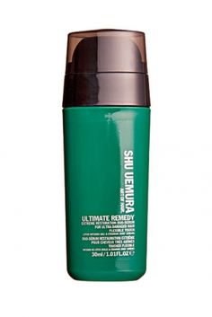 Spa per capelli: Ultimate Remedy Extreme Restoration Duo Serum For Ultra Damaged Hair SHU UEMURA