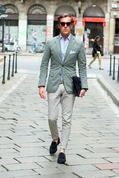 city chic for spring 2012, mint colours and without socks