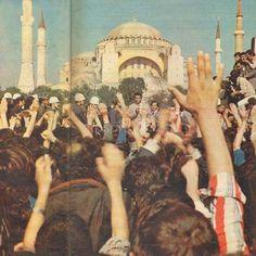 Efsane boksör Muhammed Ali 1976'da İstanbul'a gelmişti
