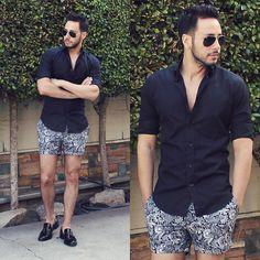 Mens Fashion Summer – The World of Mens Fashion Short Outfits, Summer Outfits, Casual Outfits, Fashion Looks, Fashion Tips, Fashion Design, Fashion Trends, Womens Fashion, Style Fashion