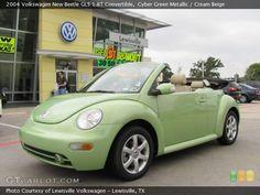 Green Volkswagen Beetle - Bing Images
